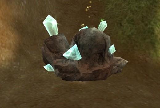 Bronze Mineral Ore