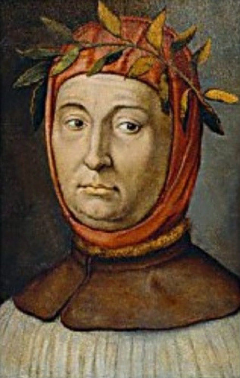 Portrait of Francesco Petrarca (1304-1374), Italian poet and humanist http://en.wikipedia.org/wiki/File:Francesco_Petrarca00.jpg