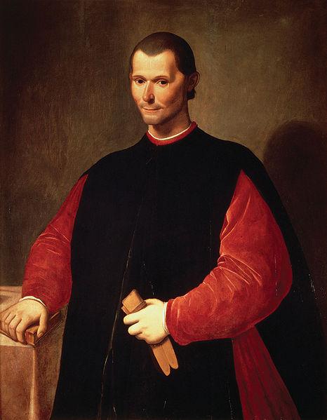 Portrait of Niccolò Machiavelli by Santi di Tito http://en.wikipedia.org/wiki/Niccolo_Machiavelli