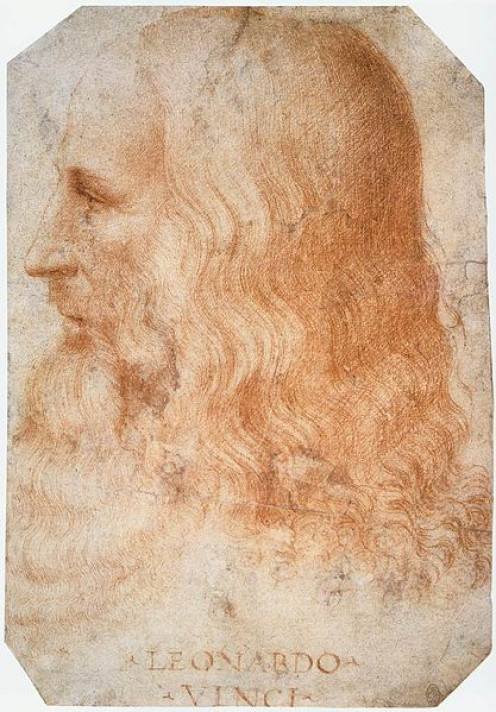 Portrait of Leonardo http://en.wikipedia.org/wiki/File:Francesco_Melzi_-_Portrait_of_Leonardo_-_WGA14795.jpg