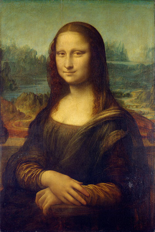 Mona Lisa http://http://en.wikipedia.org/wiki/File:Mona_Lisa,_by_Leonardo_da_Vinci,_from_C2RMF_retouched.jpg