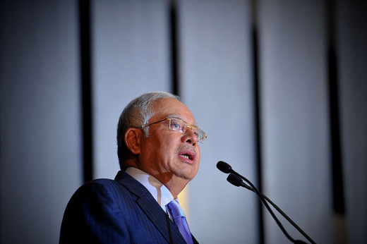 Prime Minister of Malaysia Datuk Seri Najib Tun Razak