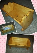 The Wooden Cradle: A Story of a Handmade Christmas Gift