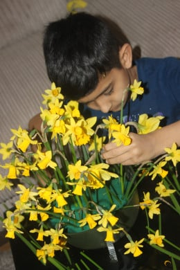 and give and put a smile on someones face... will bring a ray of sunshine in the Month of April...