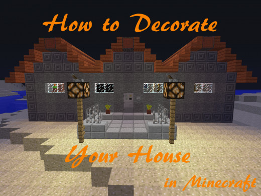 Decorate your house by recreating basic furniture that isn't included in Minecraft.