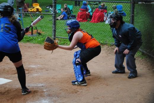Jandi my daughter, catching #13