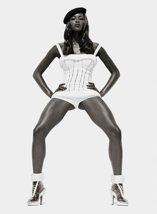 Naomi Campbell Super Model