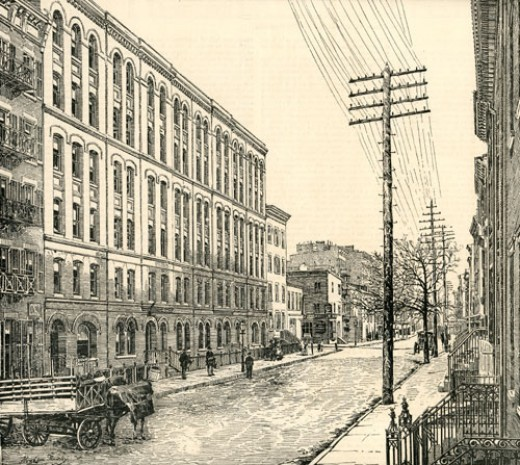 Tenement buildings