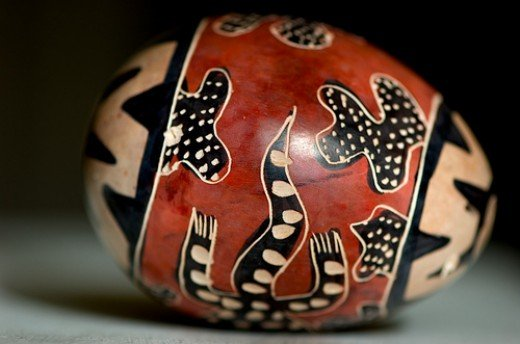 A lovely painted egg, copyright sciondriver at flickr