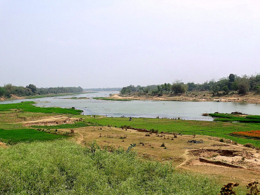 River Kansai near Pathra