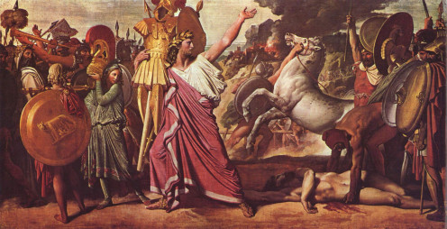 Romulus with the Spoils of War