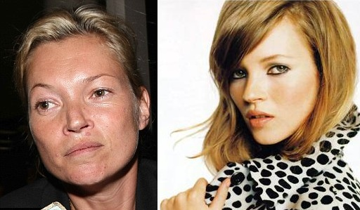 Kate Moss  was formally arrested and investigated for snorting cocaine in a west London recording studio