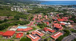 UH Hilo is in a residential community a few minutes from beautiful Hilo Bay.