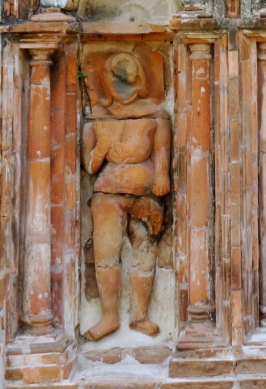 Terracotta Dwarpal (Gatekeeper)  2