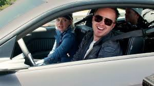 Imogen Poots and Aaron Paul star in the video-game-turned-movie Need fo Speed