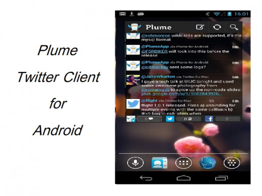 Plume is a great Android Twitter app