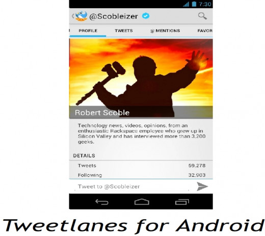 Tweetlanes: A great Twitter App for Android