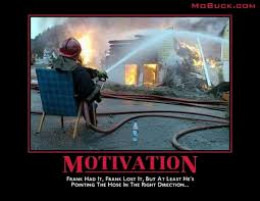 It is easy to lose motivation in the fire service. A Strong leader can remedy that.