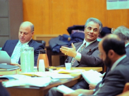 The late mafia godfather, John Gotti