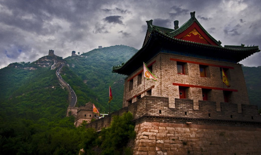 The Great Wall was built as a solid obstacle against invasions. It was also a communications network. Officers signaled to each other using bonfires, and messengers could ride along the top of the wall. It is more than 3000km across Northern China.