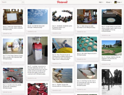 I participated in a photo a day challenge for several months and among other things, posted the photos on Pinterest.
