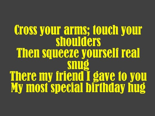 Silly Friend Birthday Poem