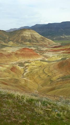 Hard to believe this is my own photograph, rather than a painting, of the Painted Hills