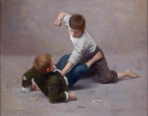 Violent Children come from Violent Environments.