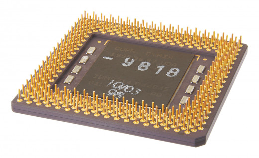 Ancient CPU from the 90s