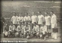First World Cup Winning Team of Uruguay