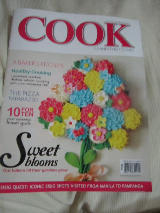 The cover of the Feb. 2014 issue of Cook Magazine. My article was featured here and in Business Mirror.