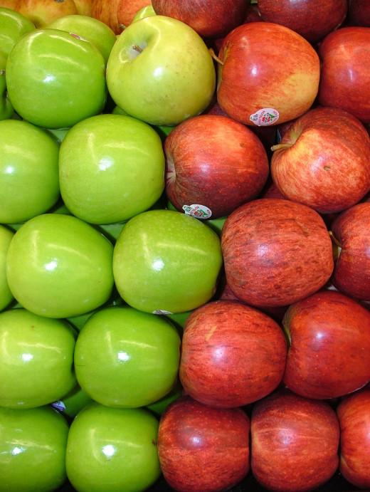 apples for an apple salad