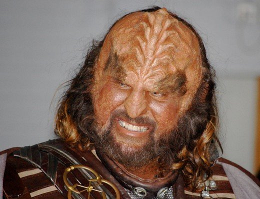 Photo of a Klingon from Star Trek by Cristiano Betta uploaded by MaybeMaybeMaybe