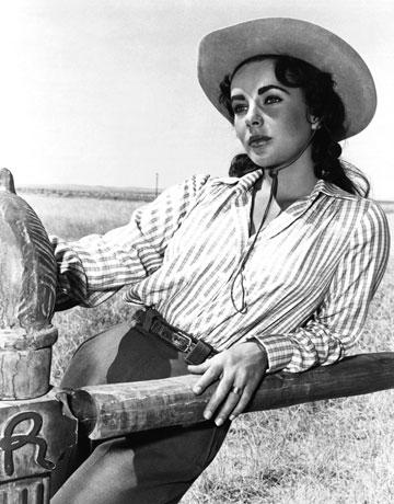 She was married to Richard Burton, TWICE. She can handle Texas.