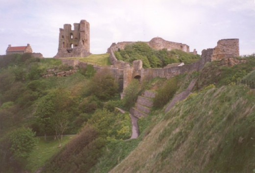 Remains of Scarborough Castle