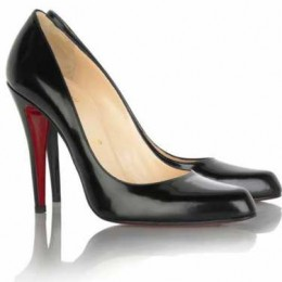 Christian Louboutin Decollete Leather Heels