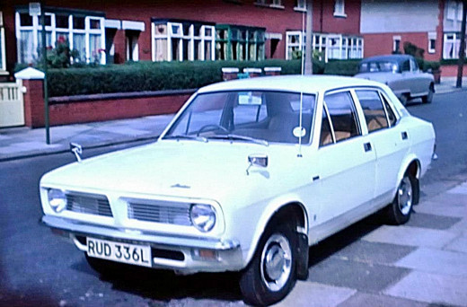 Dad's Morris Marina, a car which he loved. He bought it when he worked at Leyland Motors.