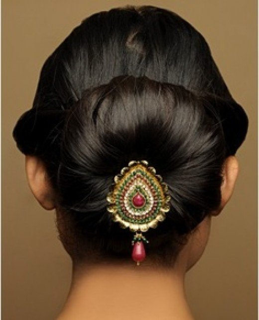 Wedding Kondai Hairstyle: Best Bangladeshi Wedding Hairstyles