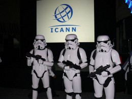 Stormtroopers take ICANN by force.