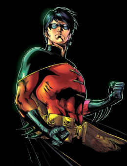 Tim Drake / Robin Courtesy DC Comics