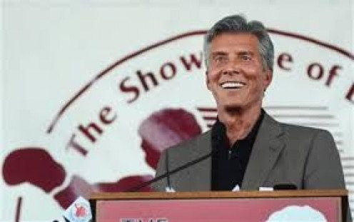 Legendary announcer Michael Buffer who coined the phrase Let's Get It On was inducted into the Hall of Fame in 2012.