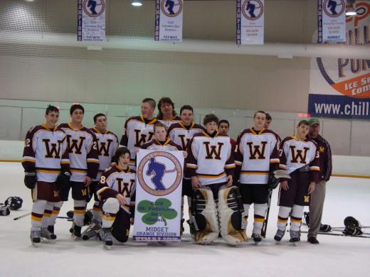 travel ice hockey championships - Wildcats