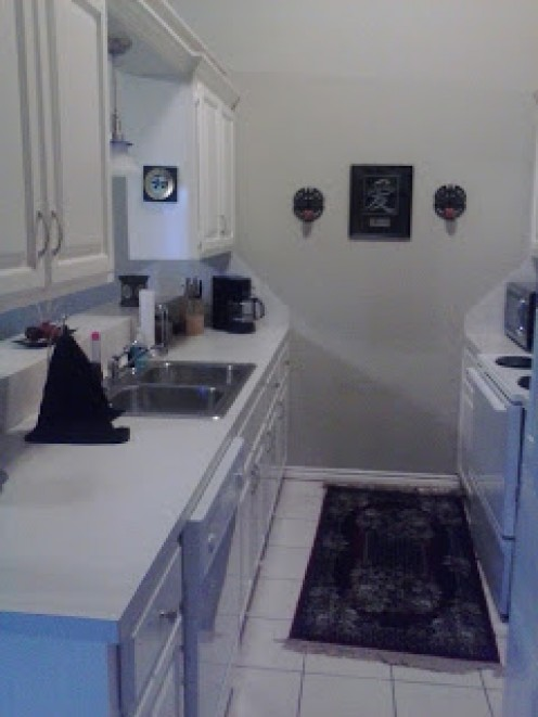 It's a great feeling of accomplishment to have a sparkling clean kitchen!
