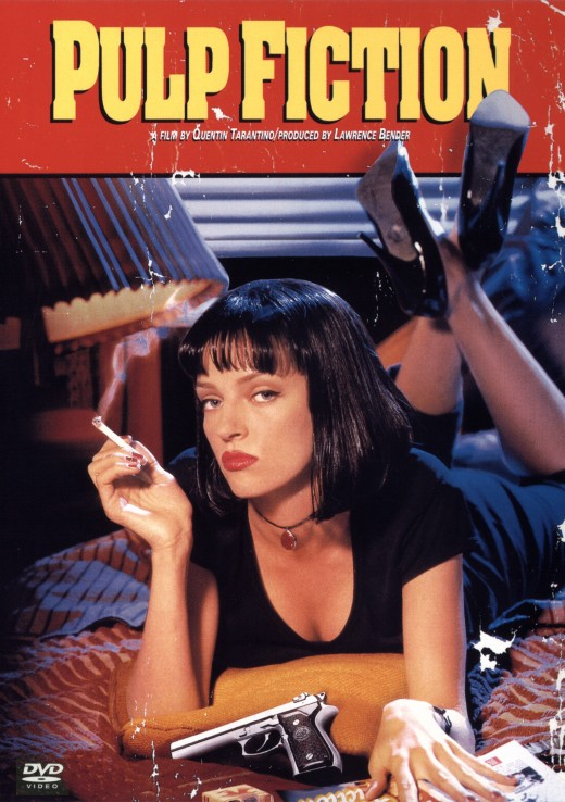 Pulp Fiction movie poster.