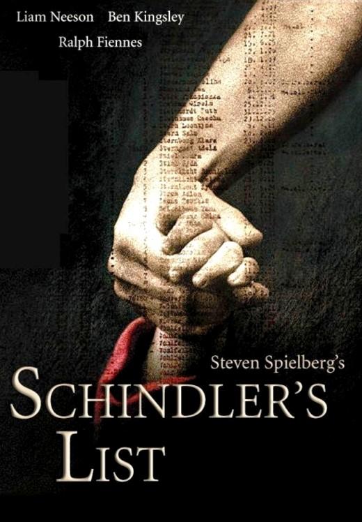 Schindler's List movie poster.