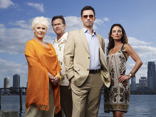 Burn Notice is more about Michael rebuilding his burnt life, than figuring out who burned him from his dream job.