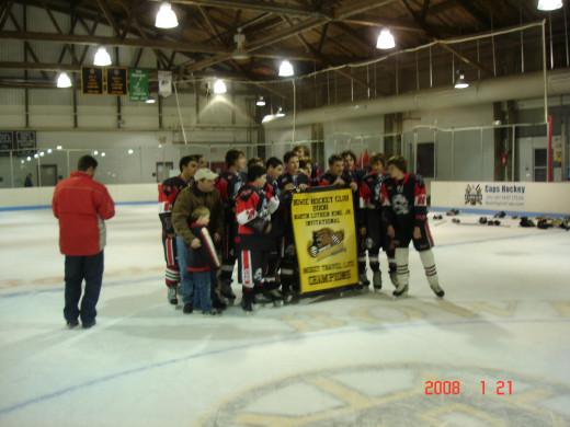 travel ice hockey championships - Raiders