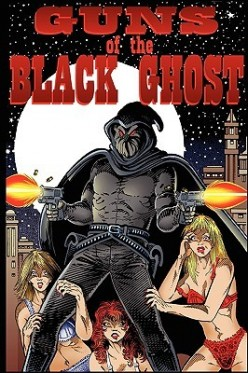 In the world of pulp fiction masked heroes take on the aspect of ghosts as in this novel by writer Tom Johnson.