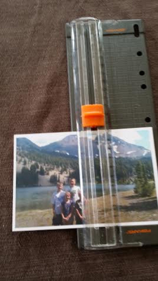 You may need to trim your favorite photos to a 4x4 inch size for your coasters