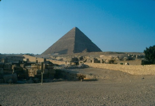 Great Pyramid of Giza, Egypt.